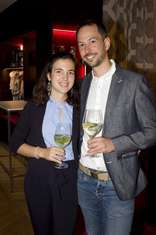 Rebekka Pichler und Steffen Röschl (Hotel Alpenfeuer).