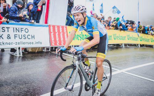 Riccardo Zoidl legte mit einer Solofahrt auf Etappe zwei den Grundstein zum Sieg.apa