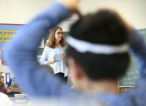 Rund 100 Kinder werden ab Herbst an neun Volksschulen im Land in Deutschförderklassen unterrichtet. APA