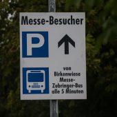 Messeparkplätze bleiben Mangelware