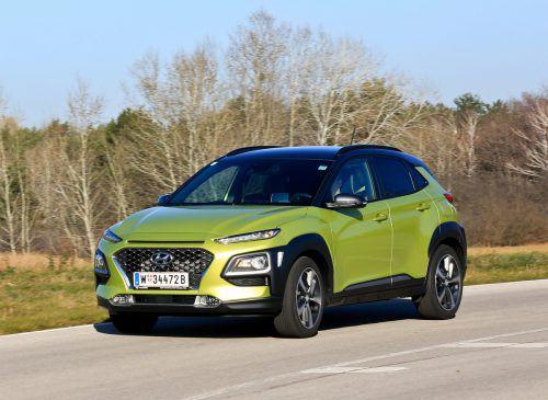 Sein Name bezeichnet eine exotische Insel, sein Auftritt und sein Anspruch sind aber dezidiert europäisch. Hyundais Kona kann Front- und 4x4-Antrieb.