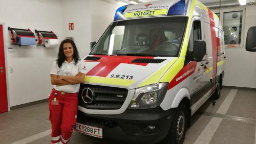 Seit drei Jahren ist Honeylene Fraidl Lehrbeauftragte für Erste Hilfe beim Roten Kreuz.
