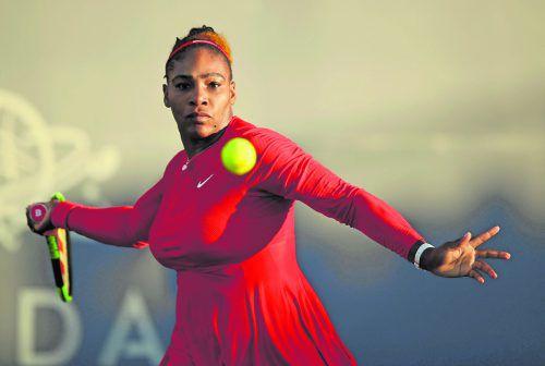 Serena Williams verlor gegen Johanna Konta zwölf Games in Serie.apa