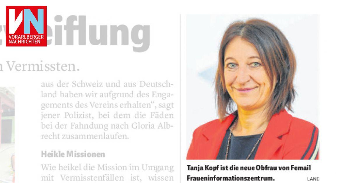 Tanja Kopf ist die neue Obfrau bei Femail Vorarlberg