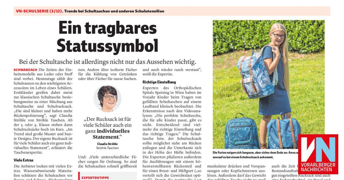 d4bc811c8c1ec Ein tragbares Statussymbol - Vorarlberger Nachrichten