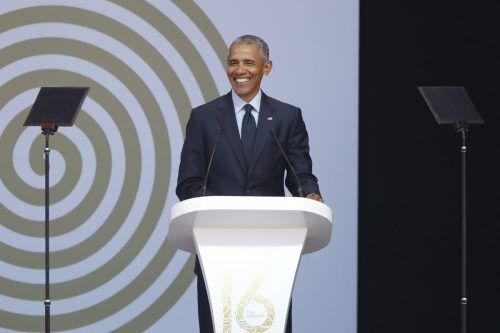 """Spotify hat Obama sogar einen Job als """"Präsident der Playlisten"""" angeboten. AFP"""