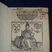 500 Jahre altes Kleinod der Buchkunst