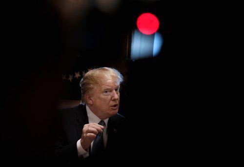 """Trump bezichtigte Cohen der Falschaussage. Dieser habe """"Geschichten erfunden"""", um eine strafmindernde Vereinbarung auszuhandeln.AFP"""