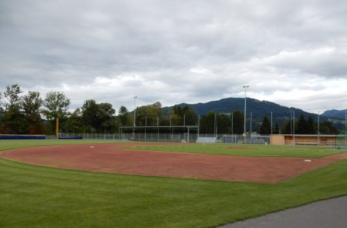 Unter anderem ein Baseballplatz ist im Rohrbach angelegt worden.Stadt