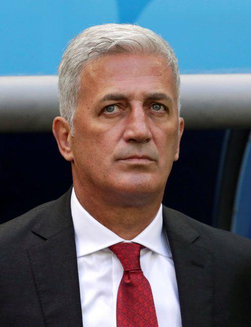 Vladimir Petkovic hat Schwierigkeitenmit dem Schweizer Nationalteam. Reuters