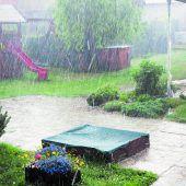 Vorkehrungen bei Starkregen