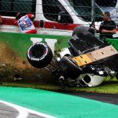 Horrorcrash und Vettel-Bestzeit an erstem Tag in Monza