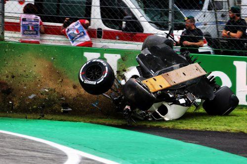 Wie durch ein Wunder blieb der Schwede Marcus Ericsson bei seinem Unfall unverletzt.???