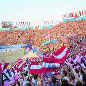 Ein Beachvolleyballfest mit 100.000