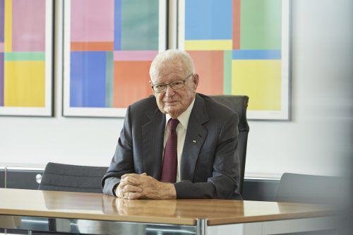 Hans Huber, der Anfang des Monats verstarb, formte die SFS-Group.Fa/Hh