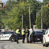 Vier Tote bei Schießerei in Kanada