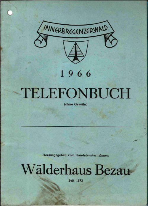 1966 erschien das erste Wälder-Telefonbuch. Jetzt ist die Ära vorbei.