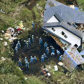 Suche nach Überlebenden geht in Japan weiter