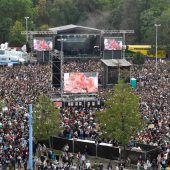 Konzert in Chemnitz gegen Rassismus