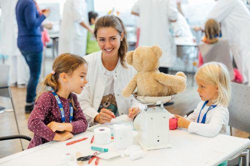 Aktion gegen Ängste von Kindern vor Spitalsaufenthalten. LKH