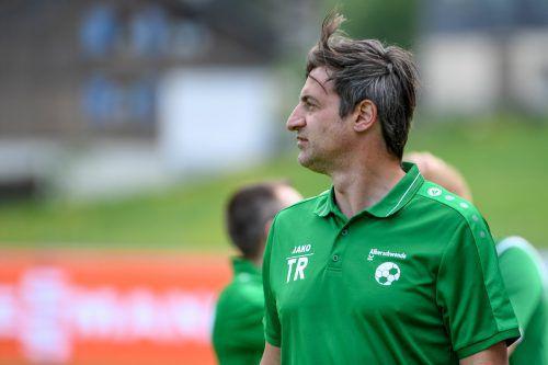 Alberschwende-Coach Goran Milovanovic-Sohm blickt dem Cup-Heimspiel gegen den FC Dornbirn mit großer Vorfreude entgegen.VN-Lerch