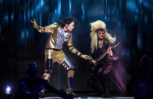 """Alex Gernandt hat Michael Jackson 16 Mal getroffen und """"Beat it! Das Musical über den King of Pop"""" mit seiner Expertise unterstützt. Harald Fuhr"""
