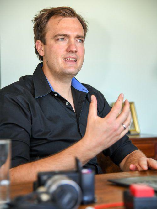 Alexander Graf gilt in Deutschland als der E-Commerce-Experte. VN/Lerch