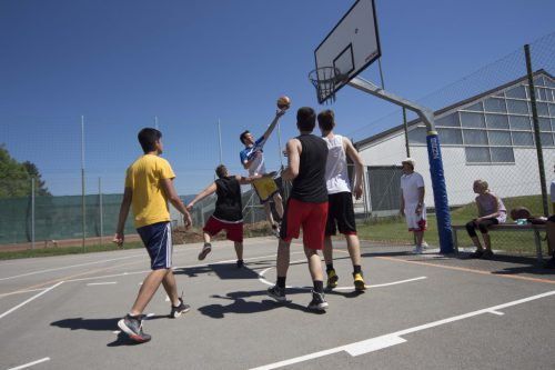 Am kommenden Samstag wird auf dem Jugendplatz Habedere ein Streetballturnier ausgetragen.gemeinde