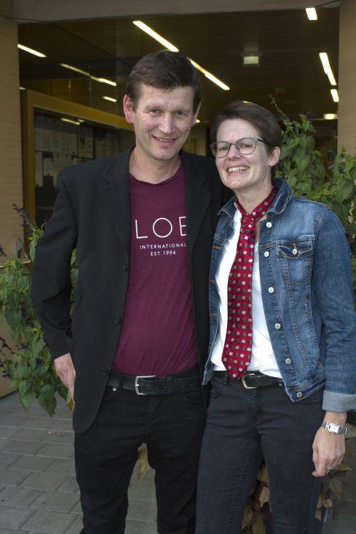 Astrid und Harald Keckeis. Franc