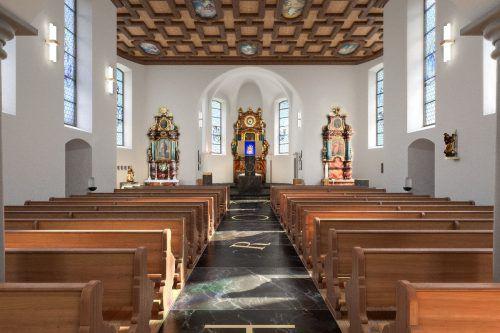 Auch Bildstein mit seiner berühmten Wallfahrtskirche ist Station beim Tag des Denkmals am Sonntag, 30. September 2018. VN