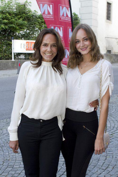 Auch Ehefrau Beatrix und Tochter Laura Bilgeri waren dabei.