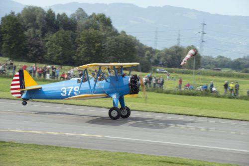 Auch zahlreiche Odltimer-Fluggeräte werden am Flugtag präsentiert.veranstalter