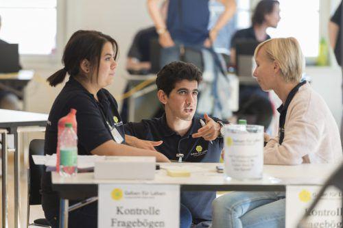 Auf der Hohenemser Lehrlingsbörse gibt es Infos zu 20 Berufen. Stadt