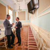 Klitschko schenkt Kurz einen Schutzengel