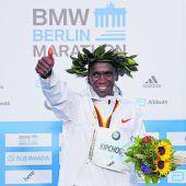 Fabel-Weltrekord von Eliud Kipchoge
