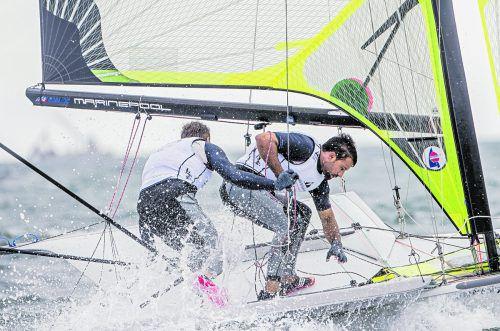 Benjamin Bildstein und David Hussl setzten beim Weltcup in Japan ein deutliches Ausrufezeichen. Segelvrband