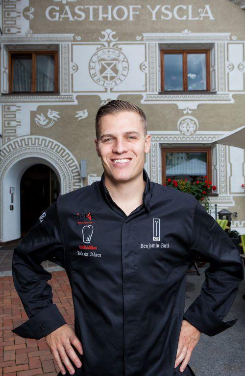 Benjamin Parth ist seit 2008 Küchenchef im Restaurant Stüva in Ischgl.
