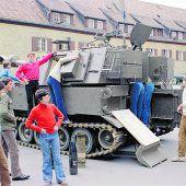 Die Panzer rollen an: Große Bundesheer-Show in Bregenz