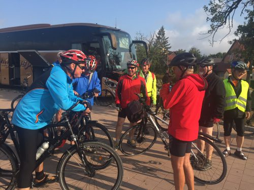 Bereits zum 56. Mal machten sich 32 Radbegeisterte auf den Weg zur legendären Radwoche. kolping reiseservice