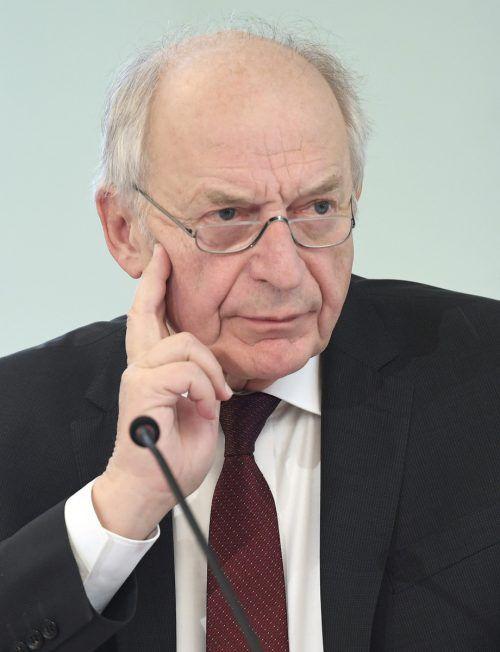 Bernhard Felderer zieht sich von der Spitze des Fiskalrats zurück. APA