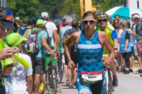 Bianca Steurer belegte beim Ironman Italien in Cervia den dritten Platz.Verband