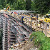 Schienenersatzverkehr über Arlberg endet heute