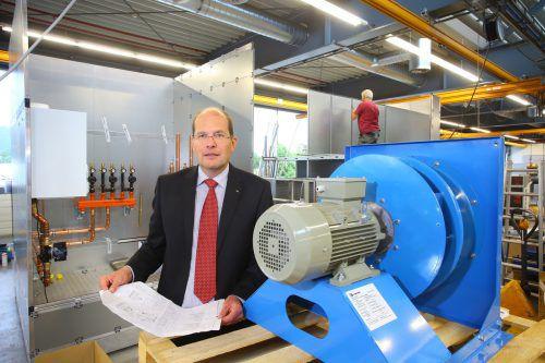 """Bösch-GF Robert Janschek: """"Unser Service ist ein Erfolgsmodell, in das wir weiter investieren werden.""""VN/HB"""