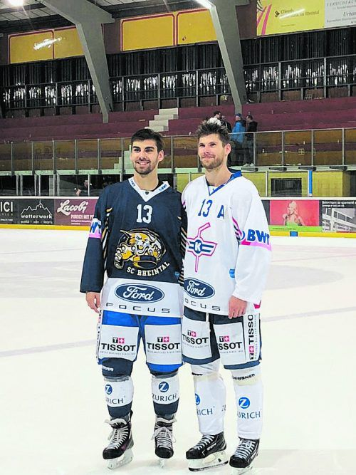 Bruderduell im Schweizer Cup: Pascal (l.) und Patrick Obrist.to