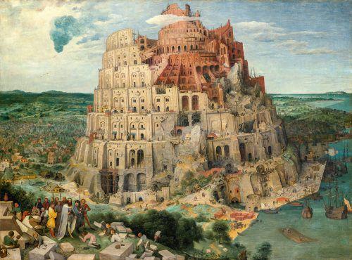 "Bruegel d. Ä.: ""Turmbau zu Babel"". Schau vom 2. Oktober bis 13. Jänner. KHM"