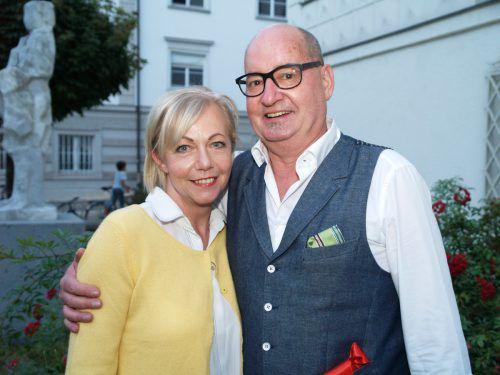 Bruno Wackernell und Evelyn Dorsch (Modehaus Sagmeister).