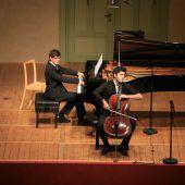 Junges Duo bei der Schubertiade