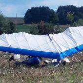 Mann mit Ultraleichtflugzeug im Burgenland abgestürzt