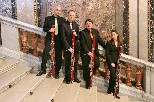 Das Quartett Fagott it wird zum Abschluss der diesjährigen Montafoner Resonanzen im Heimatmuseum Schruns zu hören sein. Veranstalter