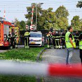 Lastenrad von Zug erfasst: Vier Kinder gestorben